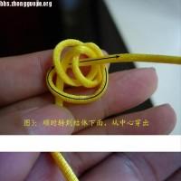 原创新结---单线四面体结徒手教程
