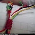 五彩手链-幸运绳手链的编法图解