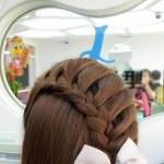 珍藏「一」!百种漂亮头发超美的编法!