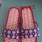 手工编织中国结拖鞋