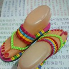 中国结手编鞋