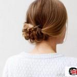 日式麻花编发教程,可爱的马尾教程图解