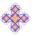 两个挂饰--------冰花与盘长的组合==(补充走线图)