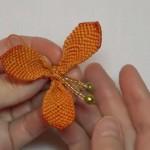 小挂件绳子的编法图解,漂亮的风铃花挂饰教程