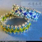 [水清木华作品]8-亮晶晶的结艺手链