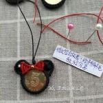 硬币编织挂件教程,绳编五毛硬币编法图解