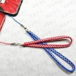 手机挂绳的编法图解-用方形盘编器做手机挂绳方法