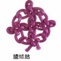 繡球結   徒手編結