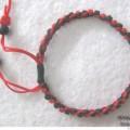 最简单——钮扣结做的小饰品