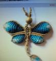 蝴蝶项链挂坠