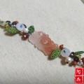 『春的气息』南红花牌手绳