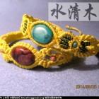 [水清木华作品]16-二款黄色绳编的手链