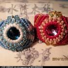 [水清木华作品]32-结艺串珠指环