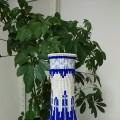 最近迷上了青花瓷 这个大瓶子连设计带编用了十天时间