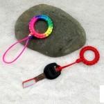 钥匙扣编绳教程,简单钥匙扣的编法图解