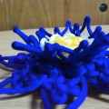 仿巴洛克的蓝莲花