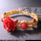 [水清木华作品]24-花朵手链