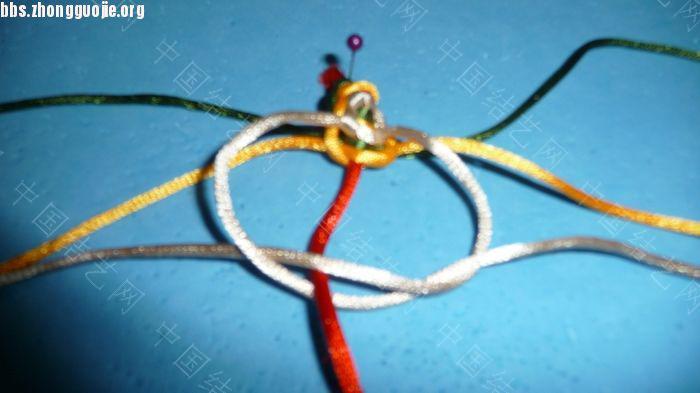 中国结论坛 三层平结及绕线圈的做法  图文教程区 074235m71cllezem10sl0z