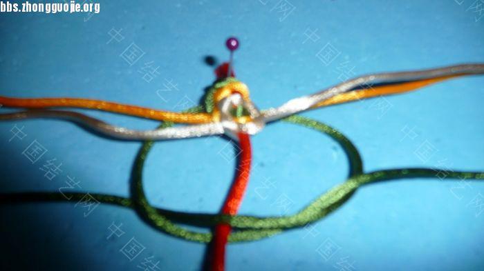 中国结论坛 三层平结及绕线圈的做法  图文教程区 07432458zpm7x44zar644p