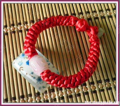 中国结论坛 为新年做的手链  作品展示 163235dpdiijwid0d5ieid