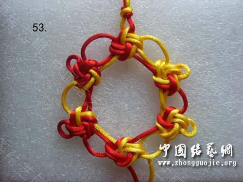 中国结论坛 冰花结口字及教程  冰花结(华瑶结)的教程与讨论区 122706ao8qeq11qagqogga