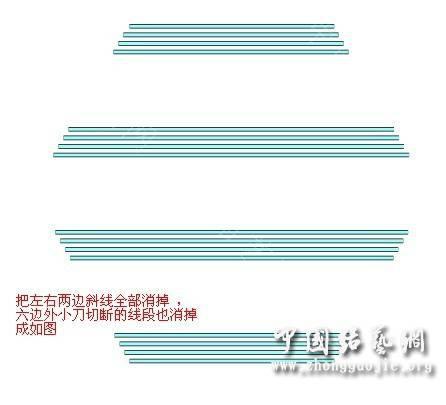 中国结论坛 团圆盘长的画法教程  走线图教程【简图专区】 010909h200qu14qqszfqzs