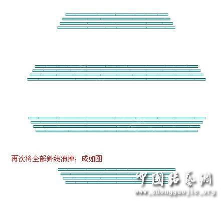 中国结论坛 团圆盘长的画法教程  走线图教程【简图专区】 010914pomp1b6xufxxbo4x