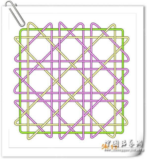 中国结论坛 小方杯垫走线图  基本结-新手入门必看 184332tptzhbmqql8qm680