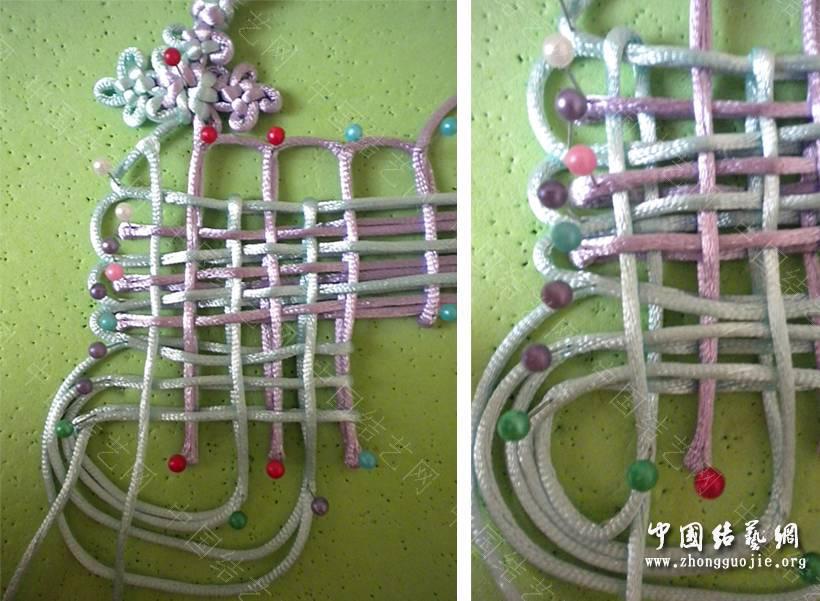 中国结论坛 6X3复翼磬结 六盘同心结的编法图解,冰花结的编法图解,同心结怎么编,中国结编法,复翼科技 基本结-新手入门必看 193332xsn6yxy1qsnxqyp1