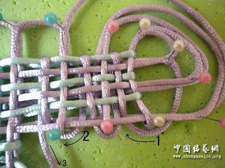 中国结论坛 6X3复翼磬结 六盘同心结的编法图解,冰花结的编法图解,同心结怎么编,中国结编法,复翼科技 基本结-新手入门必看 193336w988v8iiichnxwn8