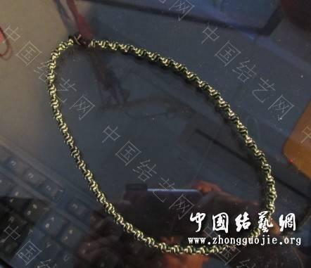 中国结论坛 项链绳集合 编项链绳子的方法视频,各种项链绳的编法图解,编项链绳子的方法图解,怎么编项链挂坠绳视频,用绳子编项链怎么编 作品展示 200909l6487awllg443a8x