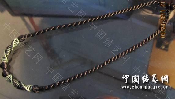 中国结论坛 项链绳集合 编项链绳子的方法视频,各种项链绳的编法图解,编项链绳子的方法图解,怎么编项链挂坠绳视频,用绳子编项链怎么编 作品展示 200916p654z4mdz6uon5pu