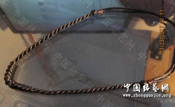 中国结论坛 项链绳集合 编项链绳子的方法视频,各种项链绳的编法图解,编项链绳子的方法图解,怎么编项链挂坠绳视频,用绳子编项链怎么编 作品展示 201436lmgvo4fkgkrz845o