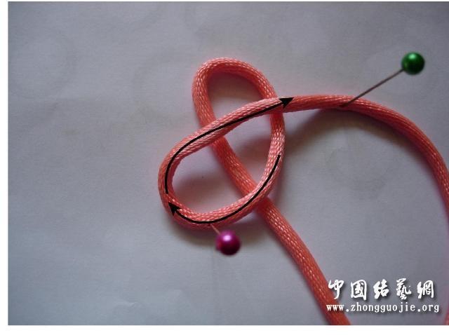 中国结论坛 四耳A型旋叶结单结练习1  冰花结(华瑶结)的教程与讨论区 2209376nng3bsbz8nzgx4x