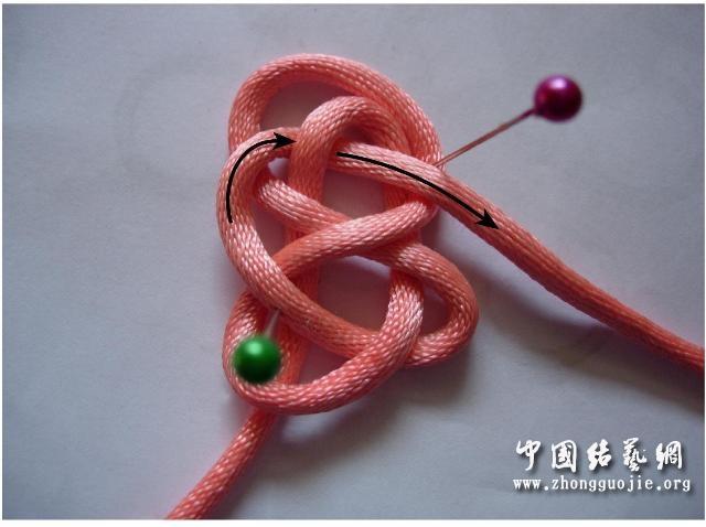 中国结论坛 四耳A型旋叶结单结练习1  冰花结(华瑶结)的教程与讨论区 2209417fzpeppetsv5nshn