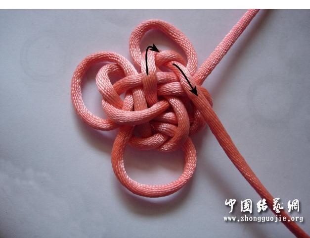 中国结论坛 四耳A型旋叶结单结练习1  冰花结(华瑶结)的教程与讨论区 220952h14lrn64rul4rsz8