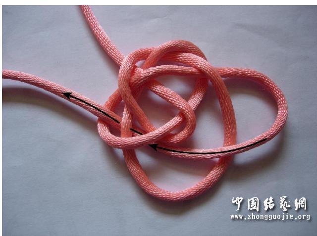 中国结论坛 四耳A型旋叶结单结练习2  冰花结(华瑶结)的教程与讨论区 210652agd4ktzx0qkqygxd