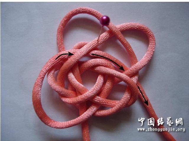 中国结论坛 四耳A型旋叶结单结练习2  冰花结(华瑶结)的教程与讨论区 210657zuxarls5rrsxxpr1