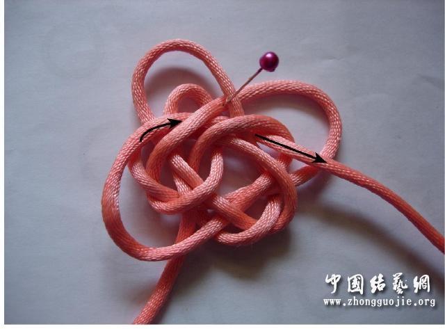 中国结论坛 四耳A型旋叶结单结练习2  冰花结(华瑶结)的教程与讨论区 210658ivmtu7htyzio4mzu