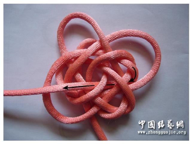 中国结论坛 四耳A型旋叶结单结练习2  冰花结(华瑶结)的教程与讨论区 210700666w1czxe5w7bwpw