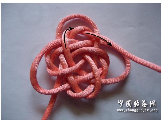 中国结论坛 四耳A型旋叶结单结练习2  冰花结(华瑶结)的教程与讨论区 210702z816wju0cj0t8jri
