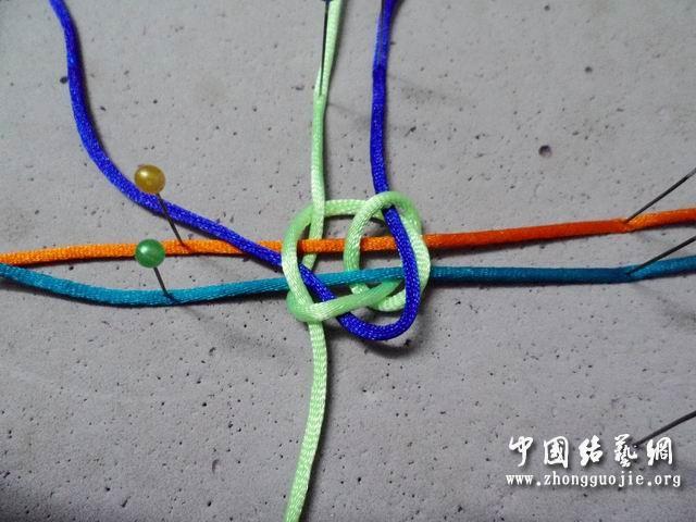 中国结论坛 轴线冰花编法1  冰花结(华瑶结)的教程与讨论区 005358v3p3ylusxiewvsyp