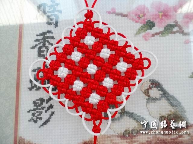 中国结论坛 改进的7*7套色冰花编结过程  冰花结(华瑶结)的教程与讨论区 135600o9nyld5bcpzlkdz4