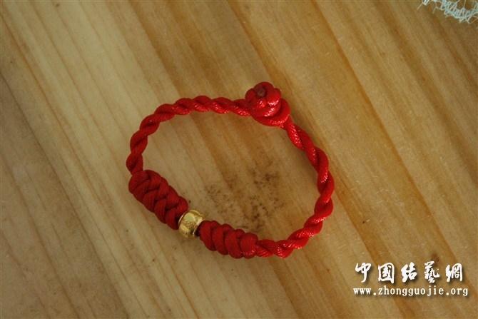 中国结论坛 给老公和孩子编的金刚结手链  作品展示 1059241n00h0d5z0ff2zdf