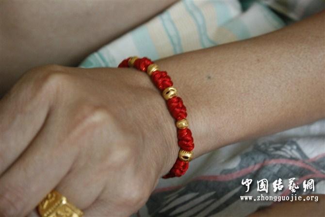 中国结论坛 给老公和孩子编的金刚结手链  作品展示 10592565van5hk7qlvhnly