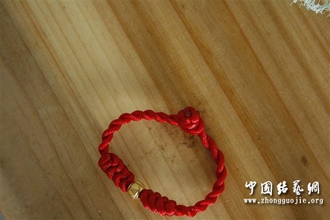中国结论坛 给老公和孩子编的金刚结手链  作品展示 105925m9mu9mx48w84wmmm