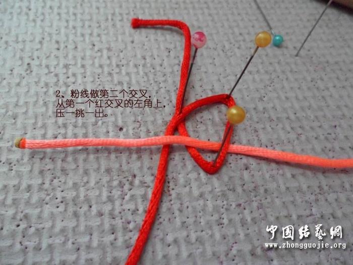 中国结论坛 B型冰花-逆时针编法  冰花结(华瑶结)的教程与讨论区 13205698c3zgyej83c5c18