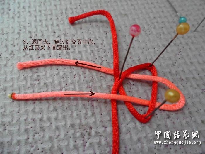 中国结论坛 B型冰花-逆时针编法  冰花结(华瑶结)的教程与讨论区 132101t3fzf6e16oz16fik
