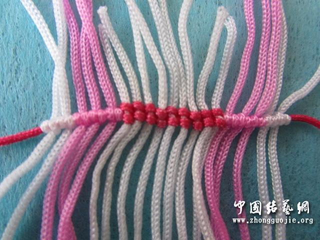 中国结论坛 原创------粉色渐变香水百合  立体绳结教程与交流区 2333558wee8e1u5hce557m