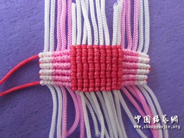 中国结论坛 原创------粉色渐变香水百合  立体绳结教程与交流区 233408kyzx1aey4kdd1avl